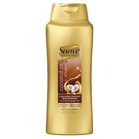Repair Oil - Suave Professionals Coconut Oil Infusion Damage Repair Shampoo, 28 oz