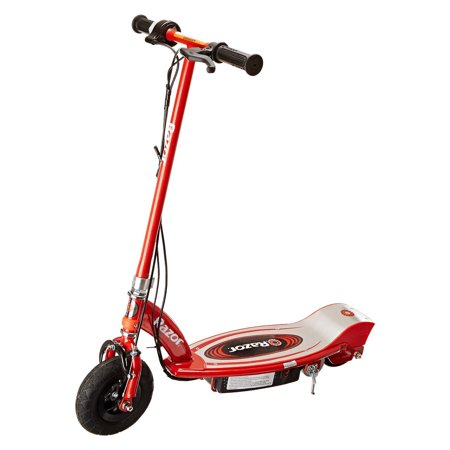 Razor E100 Motorized 24 Volt Battery Electric Powered Kids Ride-On Scooter, Red