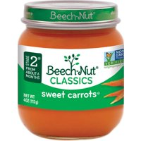 Beech-Nut Classics Stage 2 Sweet Carrots - 10 CT