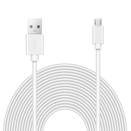 OMNIHIL (32FT) 2.0 High Speed USB Cable for Motorola Roadster 2 -