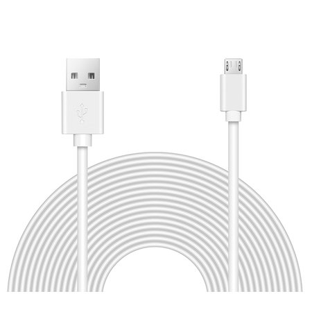OMNIHIL (32FT) 2.0 High Speed USB Cable for Motorola Roadster 2 TZ710 -