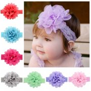 ... Baby Girls Kids Toddlers Children. Clearance. Product Image. (12Pcs 4.3 in)Lace Flower Headbands 7cc0f304a8c4