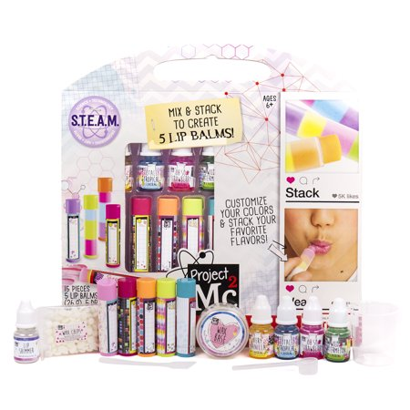 Project Mc2 Lip Balm Lab Activity Kit - Toys For 10 Year Girl