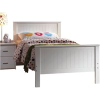 Bungalow Twin Bed, White