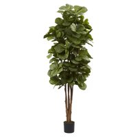 Nearly Natural 6-ft. Artificial Fiddle Leaf Fig Tree