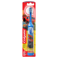 Colgate Kids Powered Toothbrush, Blaze and the Monster Machines, Colors Vary