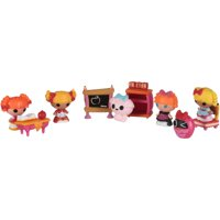 Lalaloopsy Tinies Bea's Schoolhouse Dolls 10 ct Carded Pack