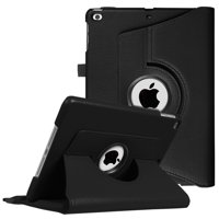 Fintie iPad 6th / 5th Gen, iPad Air /Air 2 Case - 360 Degree Rotating Stand Cover with Auto Sleep Wake, Black