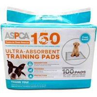 ASPCA Ultra-Absorbent Training Pads, 22 in x 22 in, 100 count