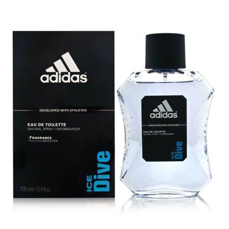 Adidas Edt Spray (Adidas Ice Dive Edt Spray 3.4 Oz By)