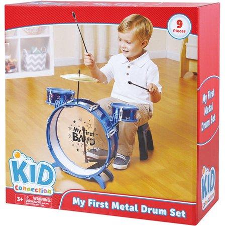 My First Metal Drum Set Walmart Com