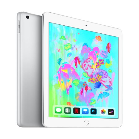 Apple (MR7K2LL/A) iPad (Latest Model) 128GB Wi-Fi - Silver