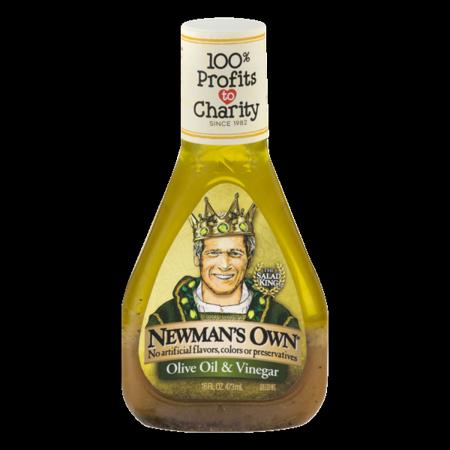 - (2 Pack) Newman's Own Olive Oil & Vinegar Dressing, 16 Oz