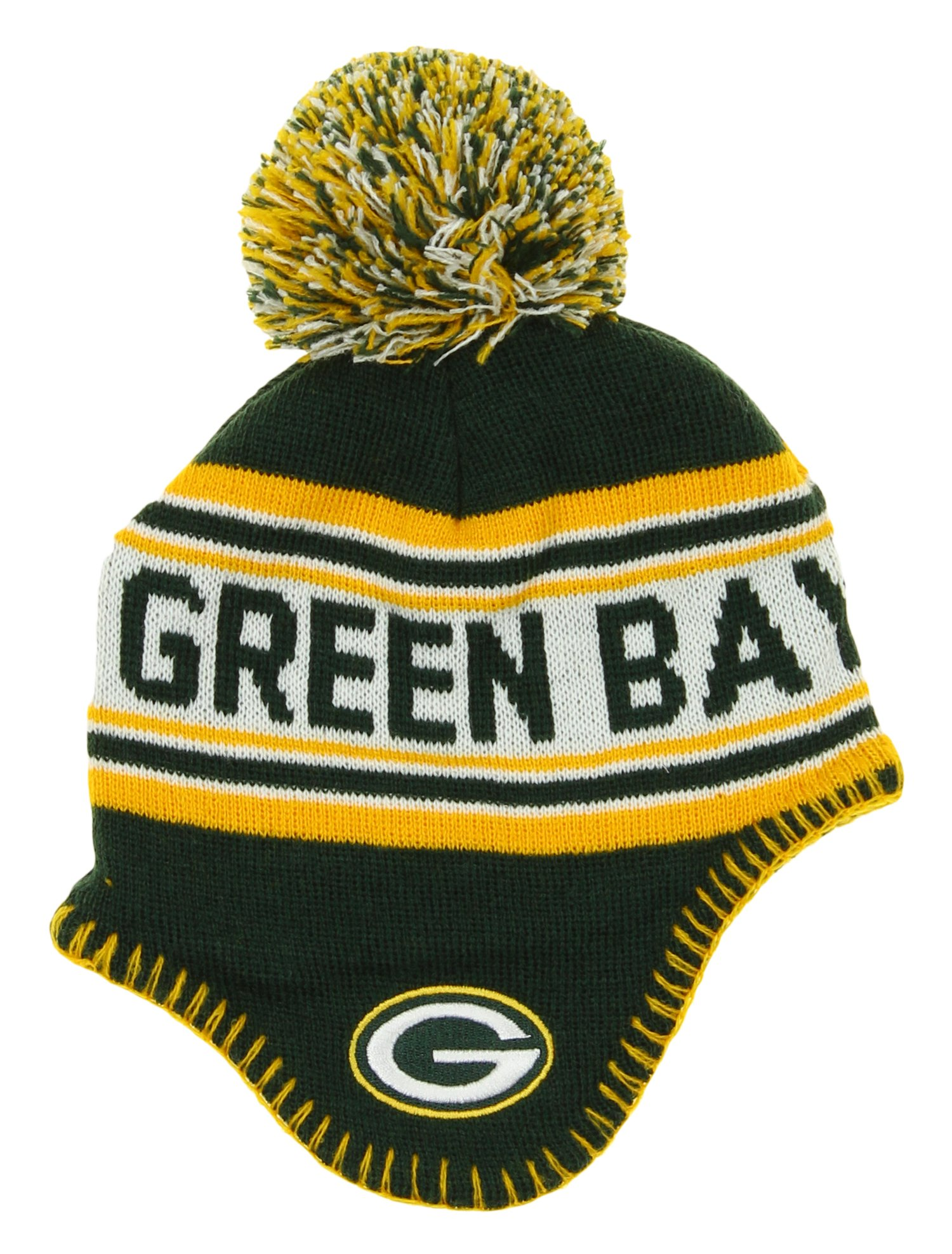 00a37644e top quality nfl infant green bay packers pom knit hat one size fits most  6d58b b7843