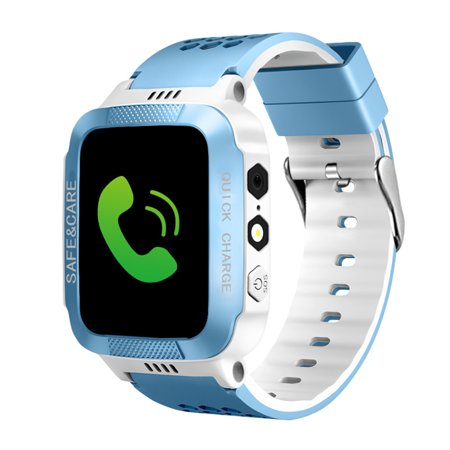 Kids Smart Watches with Tracker Phone Call for Boys Girls, Digital Wrist Watch, Sport Smart Watch, Touch Screen Cellphone Camera Anti-Lost SOS Learning Toy for Kids - Cell Activity