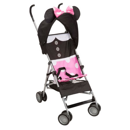 Disney Baby Comfort Height Umbrella Stroller, Minnie Dress - Chariot Cougar Stroller