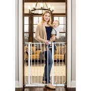 Regalo Extra Tall Baby Gate with Walk Through Door