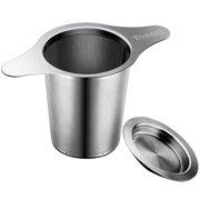 448f13407d5 Yoassi Stainless Steel Tea Leaf Strainer with Double Handle for Hanging on  Teapots