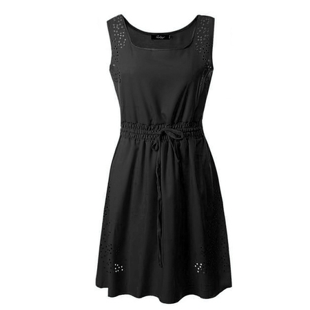 Sexy Dance Summer Dresses for Plus Size Women Chiffon Sleeveless Casual Beach Party Evening Cocktail Short Mini Dress - Dance Dresses For Tweens