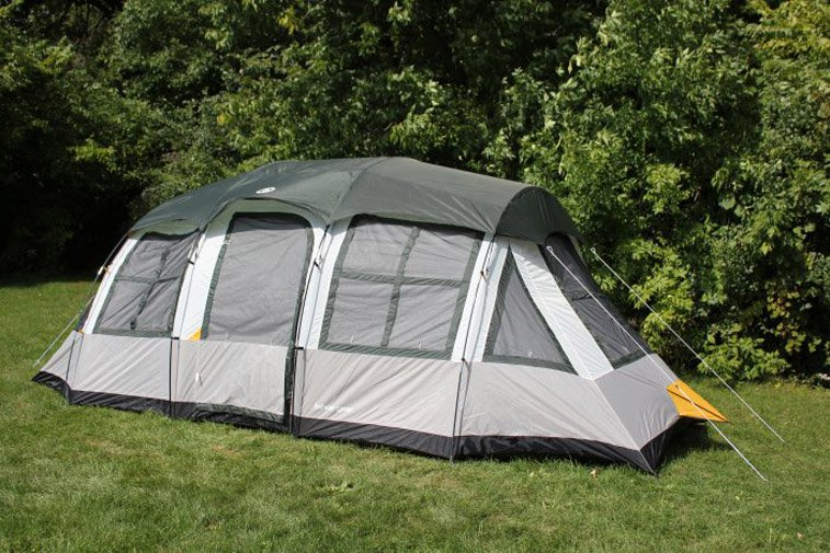 Tahoe Gear Prescott 12 Person 3-Season Instant Outdoor Family C&ing Cabin Tent  sc 1 st  Walmart & Family Camping Tents