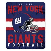 "NFL New York Giants ""Singular"" 50"" x 60"" Fleece Throw"