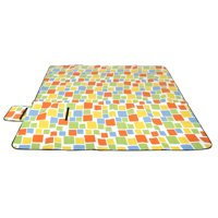 "(79""x79"")Extra-Large Outdoor Water Resistant Picnic Blanket Pads Rug Camp Beach Pad"
