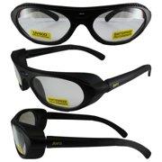340887c2a9d Global Vision Rawhide RX able ANSI Z87.1 Prescription Safety Glasses Black  Frames Clear