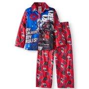 fee1eb7dd3 Lego Star Wars Button Up Star Wars Pajama Sleep Set (Big Boy   Little Boy