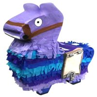 Surprise Llama Pinata, Purple & Blue, 13in x 20in