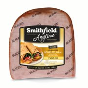 Smithfield Anytime Favorites Honey Cured Quarter Sliced Ham, Boneless, Fully Cooked, Water Added, 97% Fat Free, 3-3.5 lbs