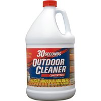 30 SECONDS Outdoor Cleaner For Algae, Mold and Mildew, 1 Gallon Concentrate