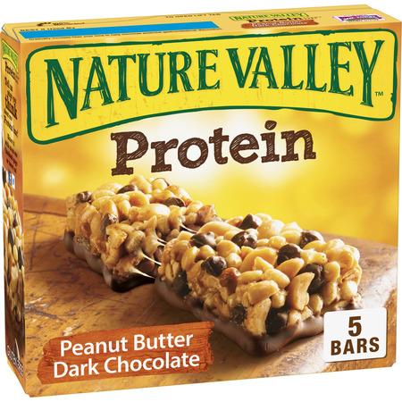 Nature Valley Granola Bar Protein Peanut Butter Dark Chocolate 5 - Protein Granola