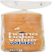 Home Bake Value White Bread, 18 Oz