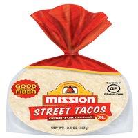 Mission Street Taco Corn Tortillas, 24 Count