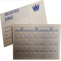 10 Checkbook Registers by Register King