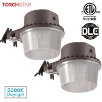 TORCHSTAR 2 Pack 35W Outdoor Barn Light Sconce with Photocell, for Garden, Yard, Patio, 5000K Daylight