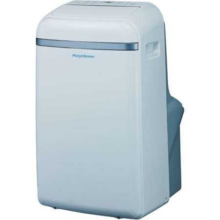 - Keystone KSTAP14B 14000 BTU 115 Volt Portable Air Conditioner with Follow Me Temperature Sensing Remote