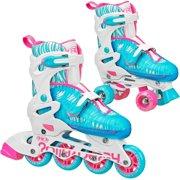 Roller Derby RD 2N1 Inline/Quad Roller Skates Combo, Girl