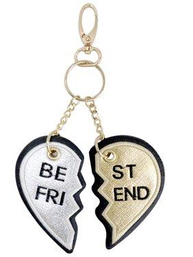 Metallic Sky Best Friend Key Chain