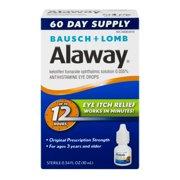 Alaway Eye Itch Relief, 0.34 FL OZ