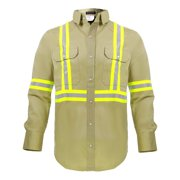 96e9edb36c60 Flame Resistant FR High Visibility Shirt – 88%C 12%N – 7