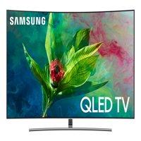 """SAMSUNG 65"""" Class Curved 4K (2160P) Ultra HD Smart QLED HDR TV QN65Q7CN (2018 model)"""