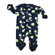 4c495e5c78a4 Boys  Fleece Footed Pajamas