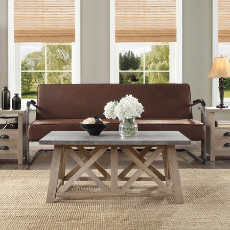 Better Homes and Gardens Granary Modern Farmhouse Coffee Table, Multiple (Antique Finish Coffee Table)