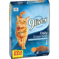 9Lives Daily Essentials Dry Cat Food (Various Sizes)