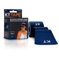 KT TAPE Original, Pre-cut, 20 Strip, Cotton, Dark Blue