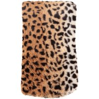 """Mainstays All Over Cheetah Printed Faux Fur Body Pillow Cover- 20"""" x 54"""""""
