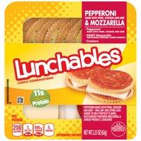 Oscar Mayer Pepperoni & Cheese Lunchables, 2.25 Oz.