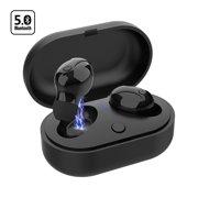 549b3929022 Wireless Earbuds, Bluetooth 5.0 Headphones TWS True Wireless Stereo IPX8  Waterproof in-Ear Earpiece