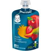 Gerber Toddler Food, Apple Mango Strawberry, 3.5 oz. Pouch